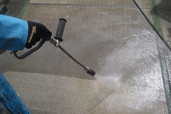 東京都板橋区 防水工事 マンション屋上 ウレタン防水 通気緩衝工法